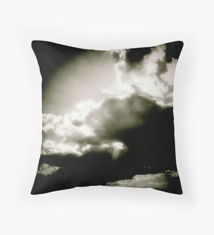 Study in Clouds II Throw Pillow