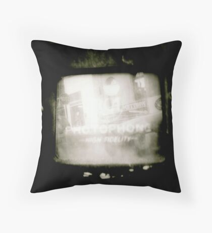 Reflection of a Landscape Throw Pillow