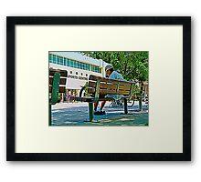 Retiree Framed Print