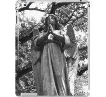 Angel grave marker, Houston iPad Case/Skin