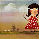 skipping girl by © Karin (Cassidy) Taylor
