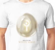 Soul of the White Mage -white Unisex T-Shirt