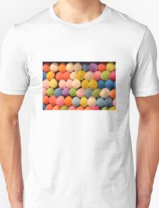 Painted Carnival Dart Game Balloons Unisex T-Shirt