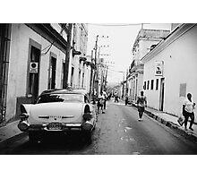 Streets of Matanzas Photographic Print
