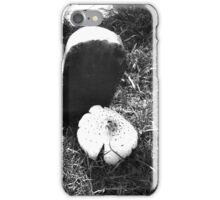 Mushroom Gravestone iPhone Case/Skin