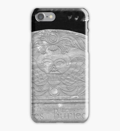 Here Lyes Buried iPhone Case/Skin