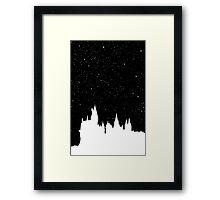 Hogwarts Space Framed Print