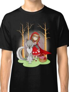Red Riding Hood and Wolfie Classic T-Shirt