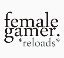 female gamer. by Electric Stars