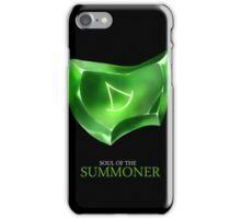 Soul of the Summoner -black iPhone Case/Skin