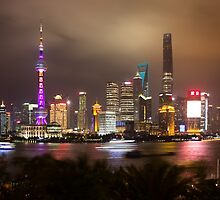 View from Bar Rouge Shanghai by Frank Moroni