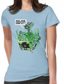 Major Input Womens Fitted T-Shirt