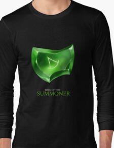 Soul of the Summoner -black Long Sleeve T-Shirt