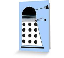 Supreme Dalek Greeting Card