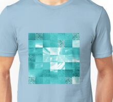 Baby Blue Marble Quilt II Unisex T-Shirt