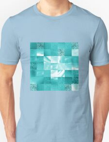 Baby Blue Marble Quilt II T-Shirt