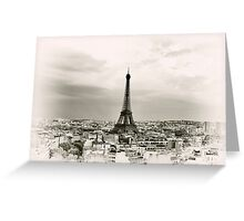 Paris 26 Greeting Card