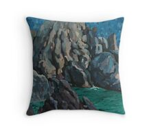 Mull of Galloway Throw Pillow