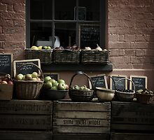 Wivenhoe produce on a summer's day by Amy Lewis