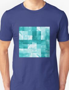 Baby Blue Marble Quilt I T-Shirt