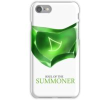 Soul of the Summoner -white iPhone Case/Skin