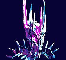 Splatter Sauron by darthasterisk