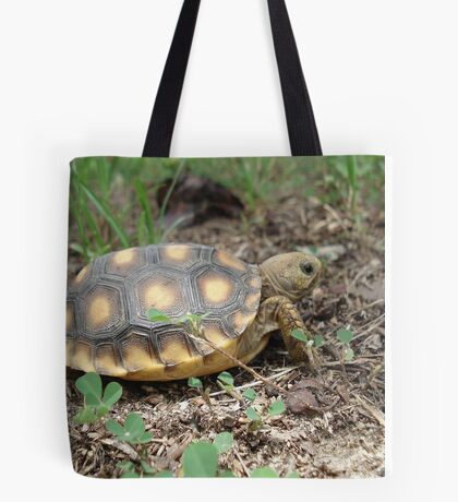 GOPHER TORTOISE HATCHLING Tote Bag
