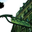 Paris Metro by Amy Lewis