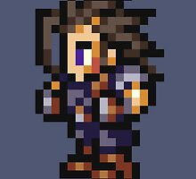 Zack Fair sprite - FFRK - Final Fantasy VII (FF7) by Deezer509