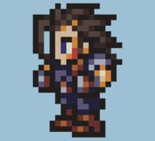 Zack Fair sprite - FFRK - Final Fantasy VII (FF7) Kids Tee
