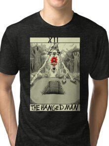 Tarot: The Hanged Man Tri-blend T-Shirt