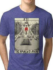 Tarot: The Hanged Man Tri-blend T-Shirt