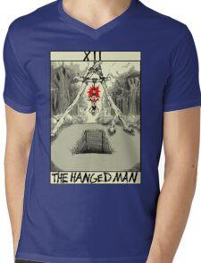 Tarot: The Hanged Man Mens V-Neck T-Shirt