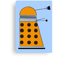Scientist Dalek Canvas Print