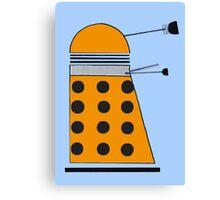 Scientist Dalek Canvas Print