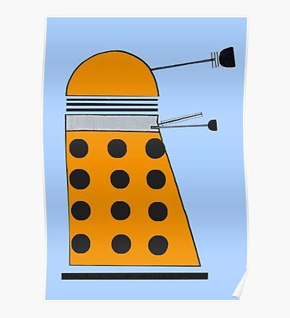 Scientist Dalek Poster