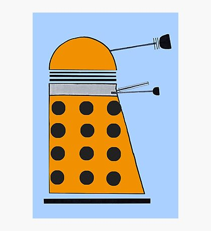 Scientist Dalek Photographic Print