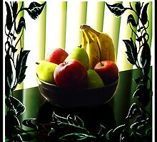 """Vines & Blinds: Fruit Bowl"" by Steve Farr"