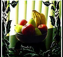 """""""Vines & Blinds: Fruit Bowl"""" by Steve Farr"""
