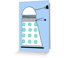 Dalek (Classic) Greeting Card
