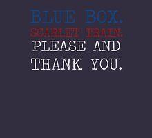 Blue Box. Scarlet Train. Version 2. Hoodie