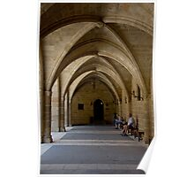 Arches of Old Town Castle Poster