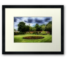 Delapre Abbey Grounds - Northampton Framed Print