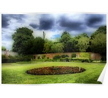 Delapre Abbey Grounds - Northampton Poster