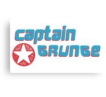 Captain Grunge MUSIC Canvas Print