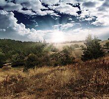 landscape_sun by DarkutProd