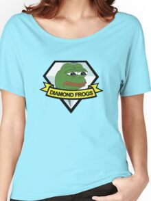 diamond frogs - our new home Women's Relaxed Fit T-Shirt