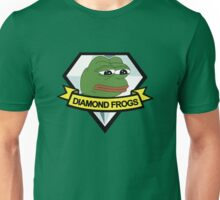 diamond frogs - our new home Unisex T-Shirt