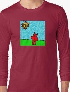"""Stuck on the Ground"" by Richard F. Yates Long Sleeve T-Shirt"