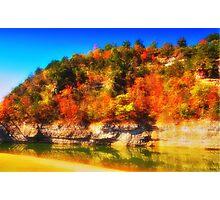 Swan Creek Autumn Photographic Print